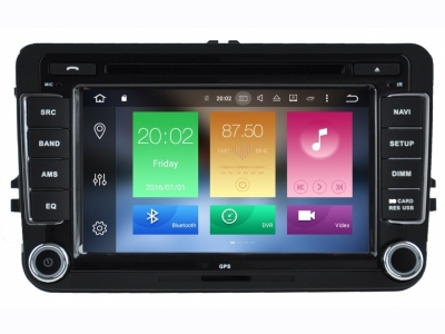 Εργοστασιακή οθόνη OEM VW 7inch ANDROID 6 /8core/DVD/CD/MP3 [LM T004]